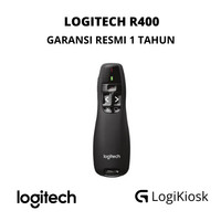 LOGITECH R400 Laser Pointer Wireless Presenter - GARANSI RESMI 1 TAHUN