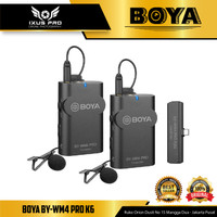 BOYA BY-WM4 PRO-K6 Wireless Omni Microphone USB Type-C Android