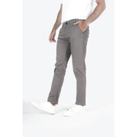 Houseofcuff Celana Chino Panjang Pria Slim fit Stretch Jeans Abu tua