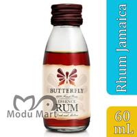 KOEPOE KOEPOE Rhum Jamaica Essence 60ml - Kupu Kupu Rum Pengharum Kue