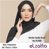 Hijab Jilbab Kerudung Segi Empat AP KEISHA SADIA Scarf ELZATTA Origina