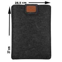 Tas Laptop Softcase Velcro Sleeve Case Felt Slim 14 15 inch