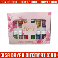 Minyak Humidifier Pure Aroma Essential Oil Aromatherapy - 12 in 1 - 3m