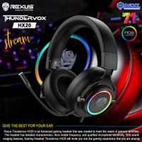 Rexus Thundervox HX20 RGB USB 7.1 Gaming Headset