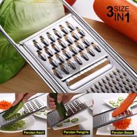Parutan 3 in 1 Serbaguna dapur grater keju Parut Kelapa sayur bawang