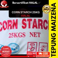 Corn starch / Tepung maizena / tepung pati jagung halal 25 kg