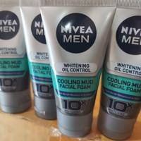 Nivea Men Whitening Oil Control 50gr facial wash