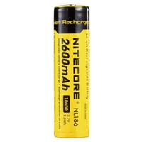 NITECORE 18650 Baterai Li-ion 2600mAh 3.7V - NL1826