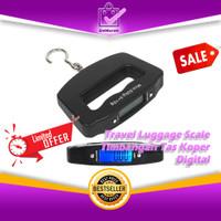 Travel Luggage Scale 50Kg - Timbangan Tas Koper Bagasi Digital 0646