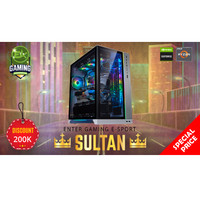 Paket PC Enter Gaming E-Sports SULTAN AMD X NvidiaGraphics