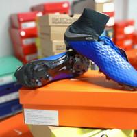 Sepatu bola NIKE Hypervenom 3 Pro DF FG Original Biru