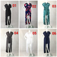 Jumpsuit kupu celana pendek oleh oleh bali new jumsuit
