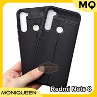 Case Xiaomi Redmi Note 8 Leather Case Softcase Auto focus Soft case