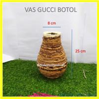 Vas bunga rustic , vas bunga anyaman Pelepah Pisang