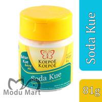 KOEPOE KOEPOE Soda Kue 81g - Cap Kupu Pengembang Natrium Bikarbonat