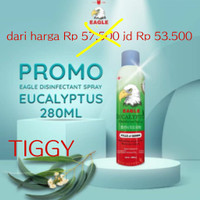 Eagle Aroma Natural Eucalyptus Disifektant Spray 280ml