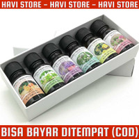 Minyak Humidifier - Pure Aroma Essential Oil Aromatherapy - 6 in 1 - 1