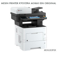 MESIN PRINTER KYOCERA M-3860 IDN PORTABLE FOTOCOPY ORIGINAL BARU SIAP