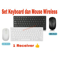 Set Keyboard dan Mouse Wireless GOOD QUALITY Termurah !!!