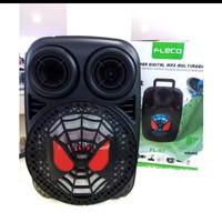 Speaker 8Inch Terbaru FL-97 Nampak seperti Karakter spiderman Ngebass