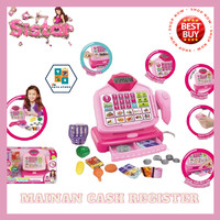 Mainan kasir kasiran anak perempuan cash register supermarket jumbo