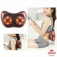 Bantal pijat portable speeds untuk punggung /leher original speeds