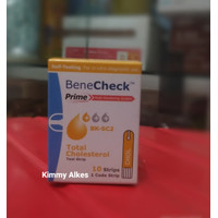 Strip Cholesterol BeneCheck / Strip Kolesterol Test Strip Benecheck