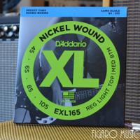 Senar Gitar Bass Elektrik DAddario EXL165 Nickel Wound - 4 Senar