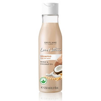 love nature shampoo for dry hair wheat & coconut oil