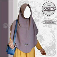 Jilbab Segi Empat Instan ( Saginta / Size M )