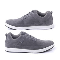 Sepatu Casual Pria/Laki Kuzatura Suede Abu NC KZS 569