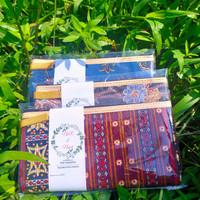 Souvenir pernikahan dompet batik / pouch dompet FREE Kemas dan Kartu