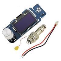 KSGER STM32 OLED Stasiun Solder T12 Iron Tips V2.1S Controller Alat La