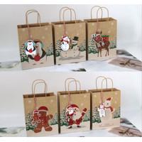 Paperbag Natal Spesial Kantong Hadiah XMAS Tas Kado Cantik Souvenir