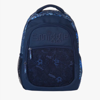 Smiggle Backpack Bag Mesh Blue Navy Tas Ransel Anak Original Asli Sale