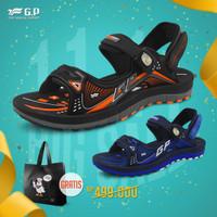 Sepatu Sandal Pria Gold Pigeon Urban Casual Champion G0791M - Orange, 38