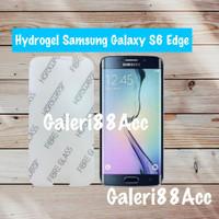 Samsung Galaxy S6 Edge Hydrogel Screen Protector Anti Gores