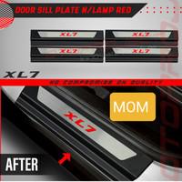 Sill Plate / Sillplate Pintu Samping Red Big Otoproject XL7 2020