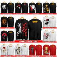 Er_Store Kaos Distro Motif Anime Naruto - Katun All size fit L