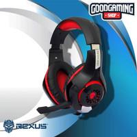 Rexus Vonix F55 - Gaming Headset - Merah