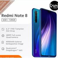 XIAOMI REDMI NOTE 8 RAM 6/128 GB - 48 MP - GARANSI RESMI TAM