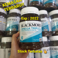 READY BLACKMORES Odourless Omega Triple Concentrate Fish Oil - 150Caps