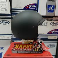 Helm Halfface Classic Bell Scout Air Matte Black DOT Original size M