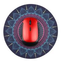 Persia kain mouse pad vintage bohemian batik bulat custom gaming pc