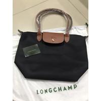 Longchamp Le Pliage Nylon Classic Tote Bag Long Handle MLH ORIGINAL FO