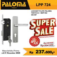 Kunci Set PALOMA LPP 724 Handle Pintu Mortise Lock Gagang Pintu