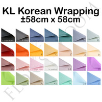 KL Korean Wrapping 20Lembar -Cellophane -wrapping paper -VARIANT