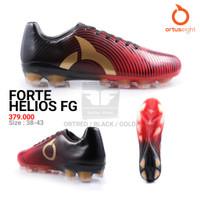 ORTUSEIGHT FORTE HELIOS FG ORIGINAL TERMURAH Sepatu Bola - OrtredBlackGold, 41