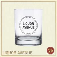Gelas Whiskey Kaca / Classic Scotch Whisky Rocks Glass