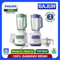 Blender Philips HR2221 Blender Plastik 2 LIter Pro Blend Crush HR-2221 - LAVENDER